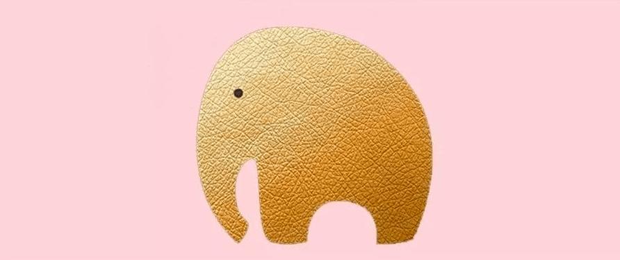 粉色的大象生活让生活再次运转,让唇腭