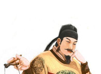 三、是信仰差别 诗人王维的画像