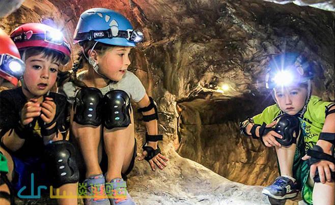 国内外为儿童在微地形上钻孔的案例很多。 幼儿