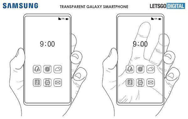 原创            三星透明手机专利曝光 科幻或成现实 想问电池、相机和听筒在哪