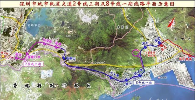 定了!深圳地铁8号线一期、2号线三期、3号线东延线计划10月28日开通