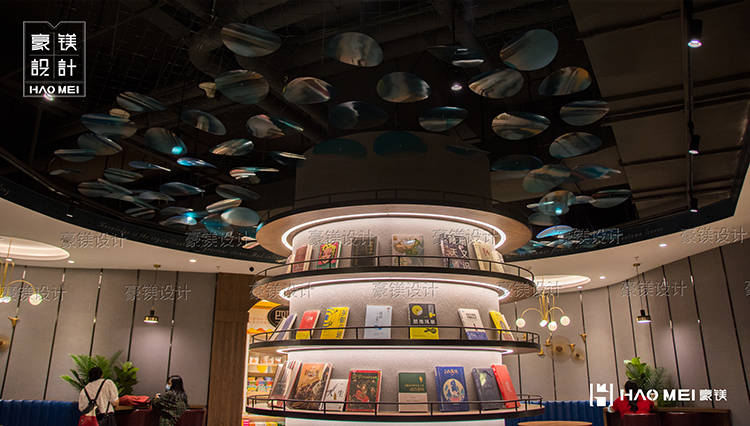 哪一个更适合装饰书店? 无早书店装修