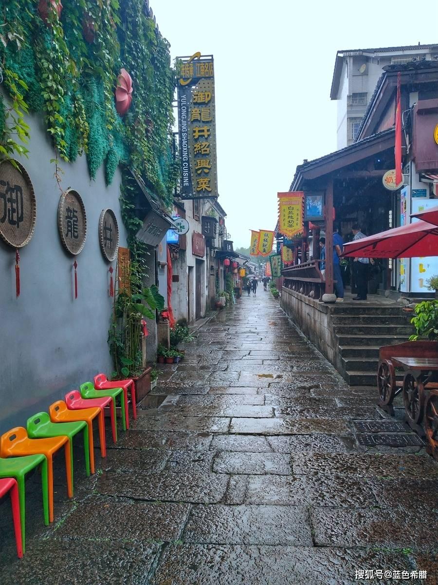 15张照片带你进入绍兴仓桥直街,在秋雨
