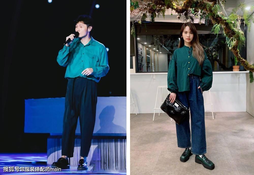 原创             李荣浩杨丞琳不仅有夫妻相,穿搭也同步,这35套造型原来是撒狗粮