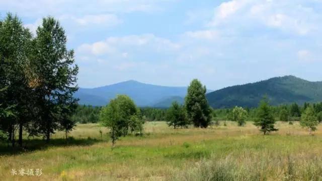 大兴安岭奥克里堆山的美丽传奇