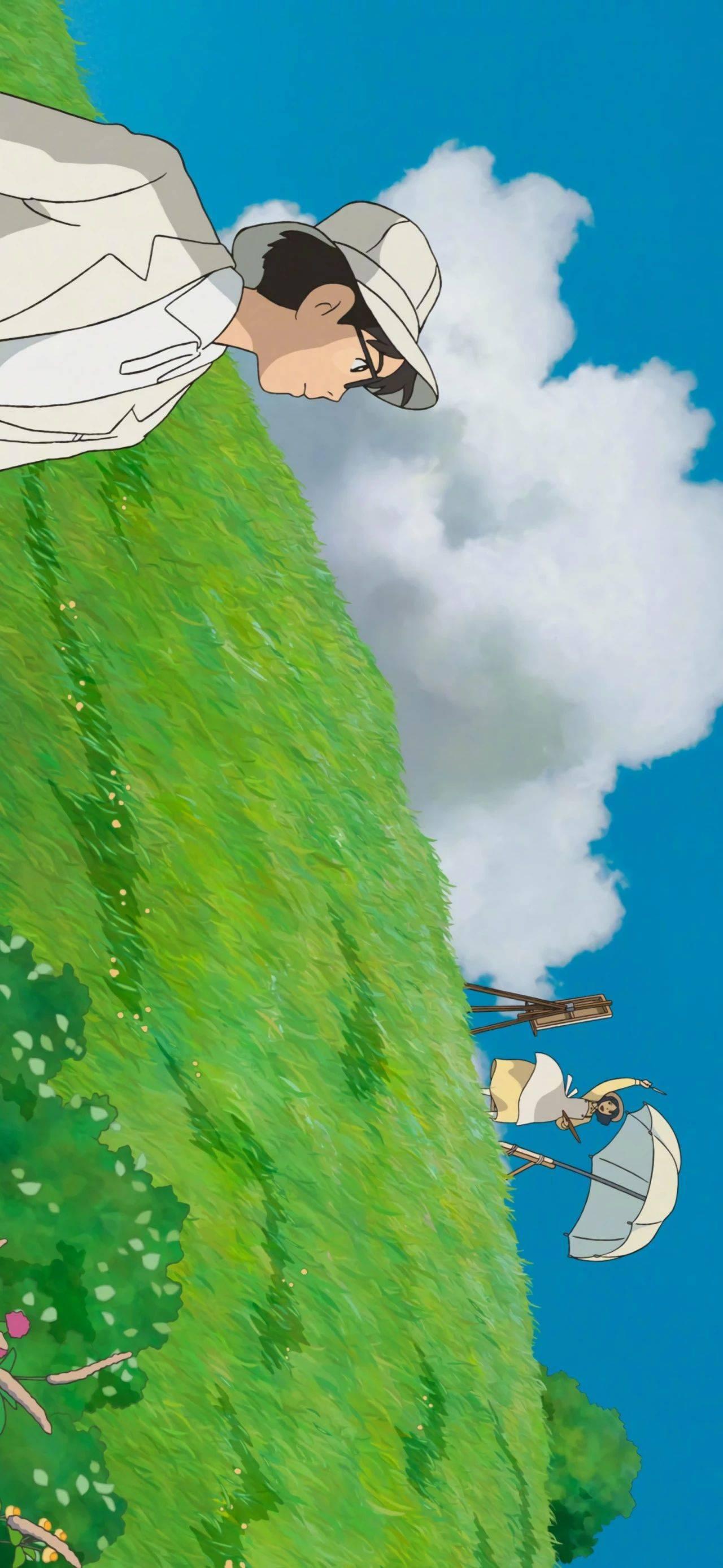 壁纸丨宫崎骏的夏天