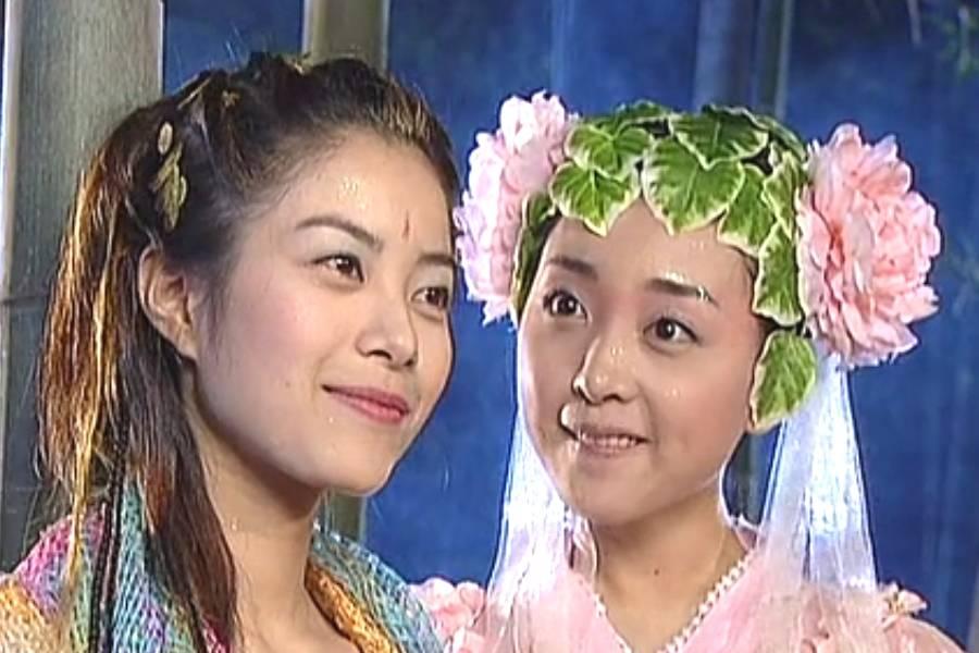 发饰可以当古装女人的耳罩,张巧嘴很聪明,花