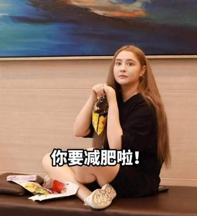 """""""都城第一佳丽""""李长乐,由于管不住嘴吃胖40斤,胖到撞脸钱枫(图2)"""