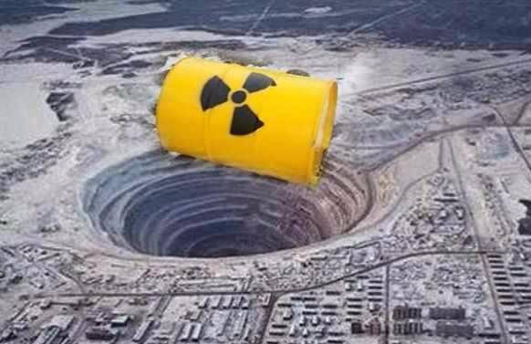 核废料能扔进地球几千米深吗?