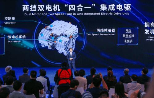 """中国汽车动力""""领先一步""""的故事"""