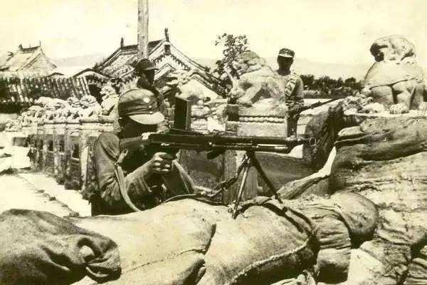 抗日战争时期中国军人是如何接触的?美