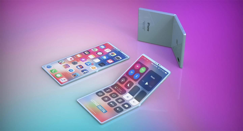 【苹果申请带自愈功能折叠屏专利,iPhone可自动修复划痕】