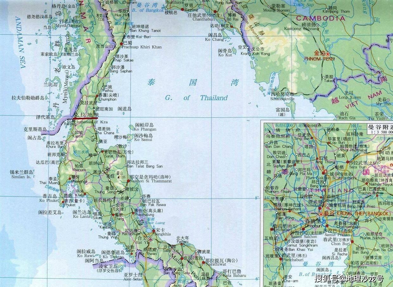 泰国为什么不开凿 克拉地峡运河 ,从而取代新加坡的地位图片