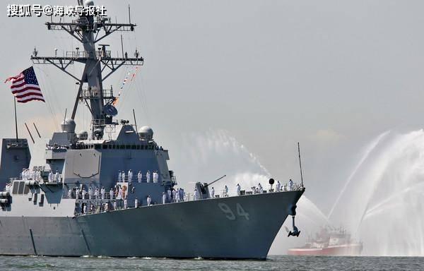 """美军驱逐舰今天由南向北通过台湾海峡,台军方宣称""""全程掌握"""""""