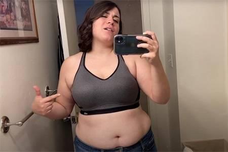 197.4斤女生减肥跳绳1周,体重减了1.8斤,再分享9个减肥技巧