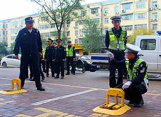 山西省临沂市开展城市道路交通秩序集中整治
