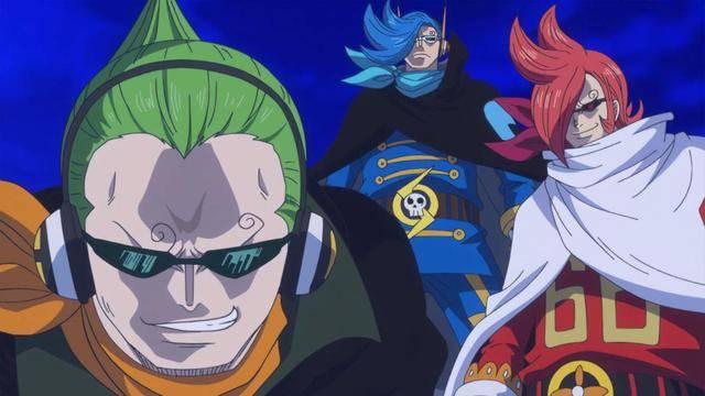 海贼王9款奇葩发型,杰尔马三兄弟是杀马特,克力架头发是爆竹_尾田