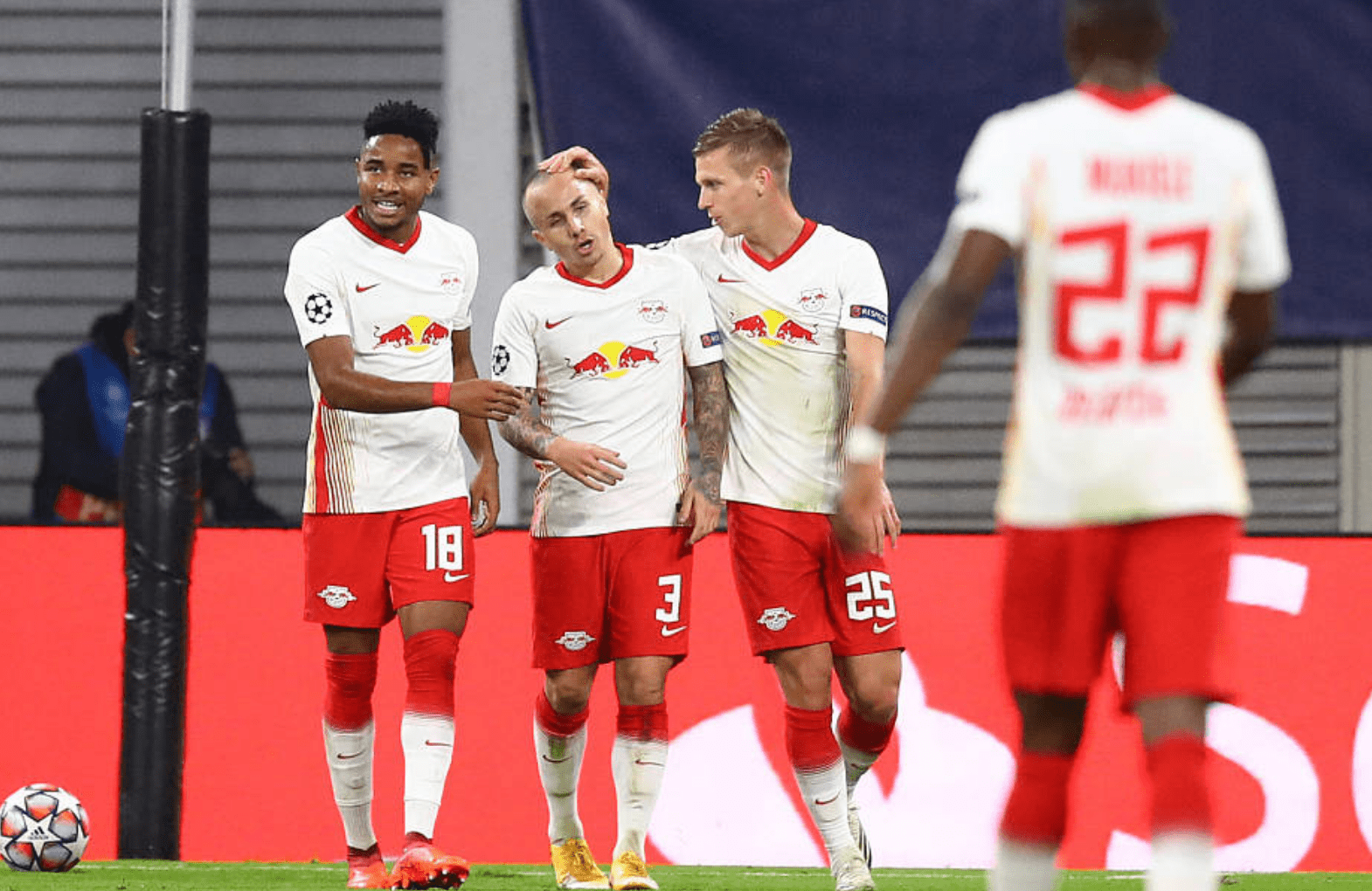 欧冠-曼城租将双响莱比锡2-0布鲁日2-1绝杀泽尼特