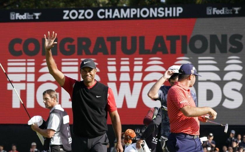 伍兹出战ZOZO赛欲卫冕:我曾多次在金熊的球场夺冠