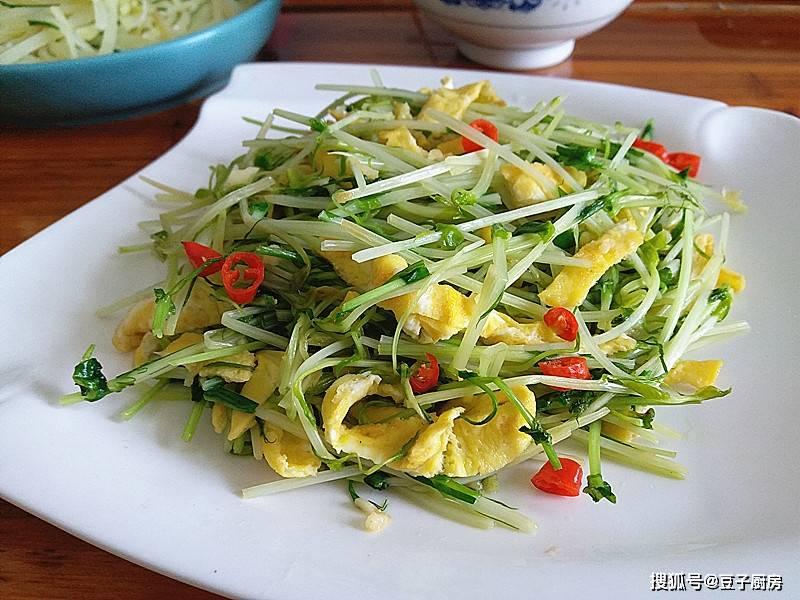 吃豌豆黄豆不如吃它,维生素比西兰花多,简单一炒,超好吃
