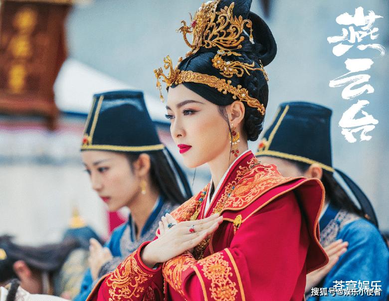 大女主剧《燕云台》群像海报,唐嫣皇后造型美艳霸气,身边两位男演员吸睛