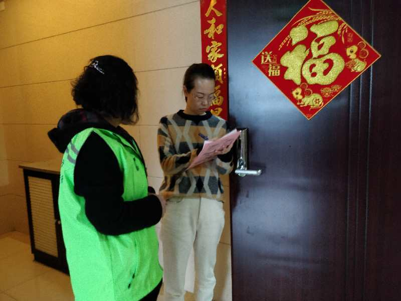 山西太原:长治路社区开启垃圾分类敲门入户宣传活动