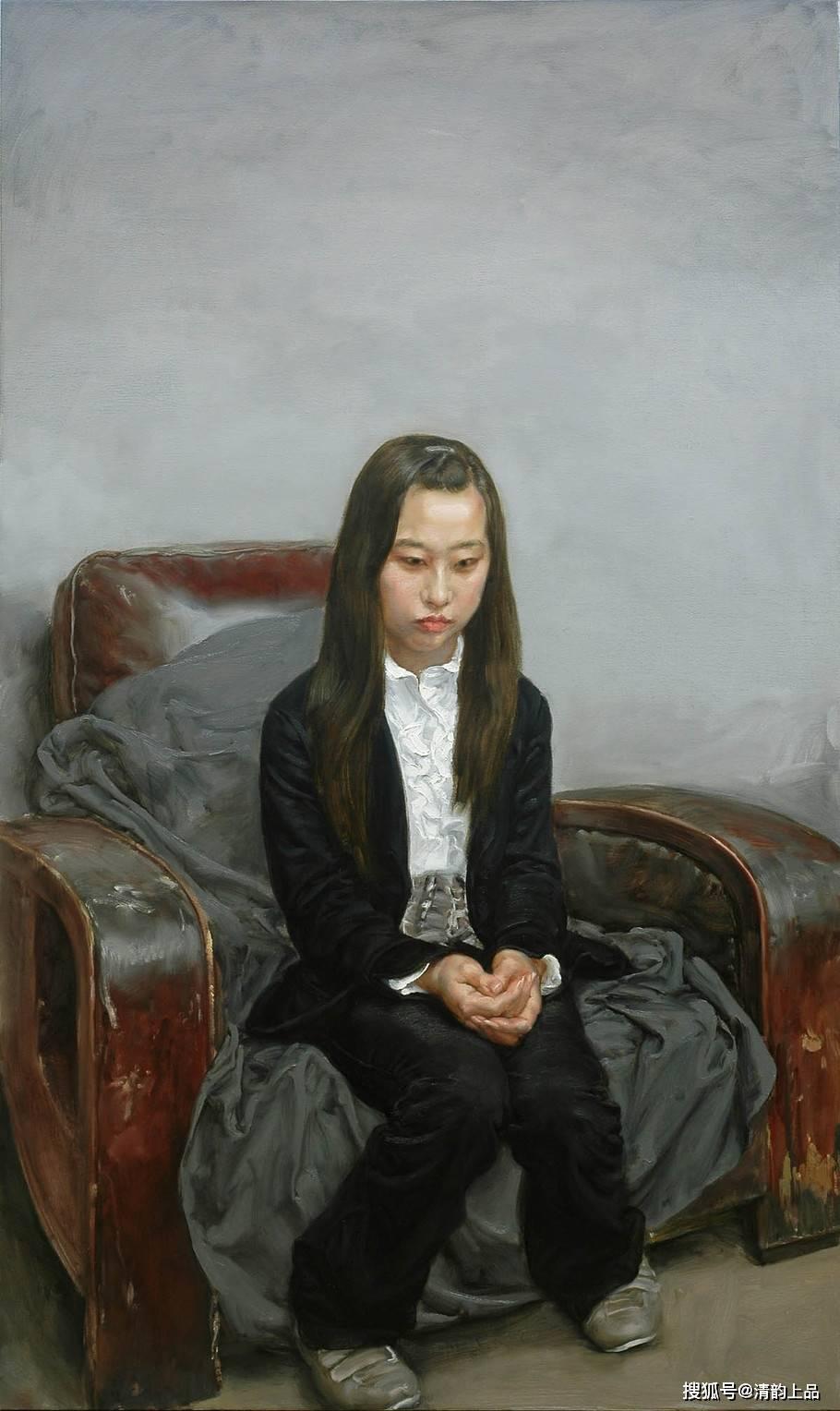 油画家于小冬人物油画作品欣赏