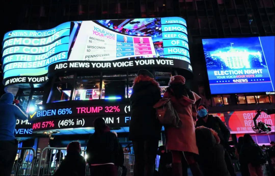 原创 没有结果的选举日:特朗普和拜登都认为自己有希望胜出