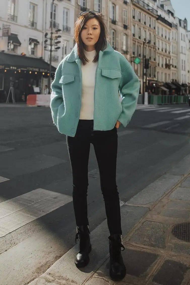 """小白鞋失宠了_!2020最流行穿""""裤子+马丁靴"""",时髦炸了!_造型"""