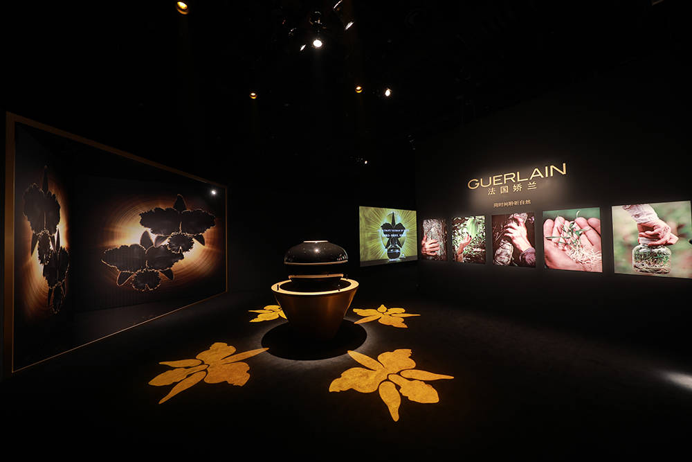 """""""时间·结晶""""区- 领略源自法国的传奇陶瓷金艺,亲眼黑兰面霜打破时间之美的智慧"""