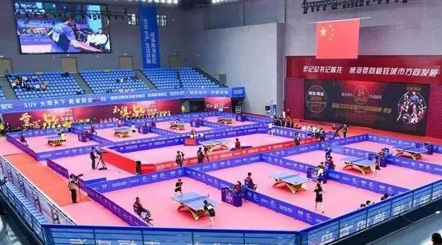 乒乓球世界杯运动员休息区里的超V人工智能机器人,秀域科技健康缓解运动疲劳