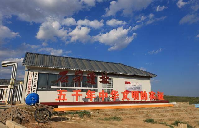 原创             航拍石峁遗址,除了惊叹就是赞叹,这里将改写中华文明史