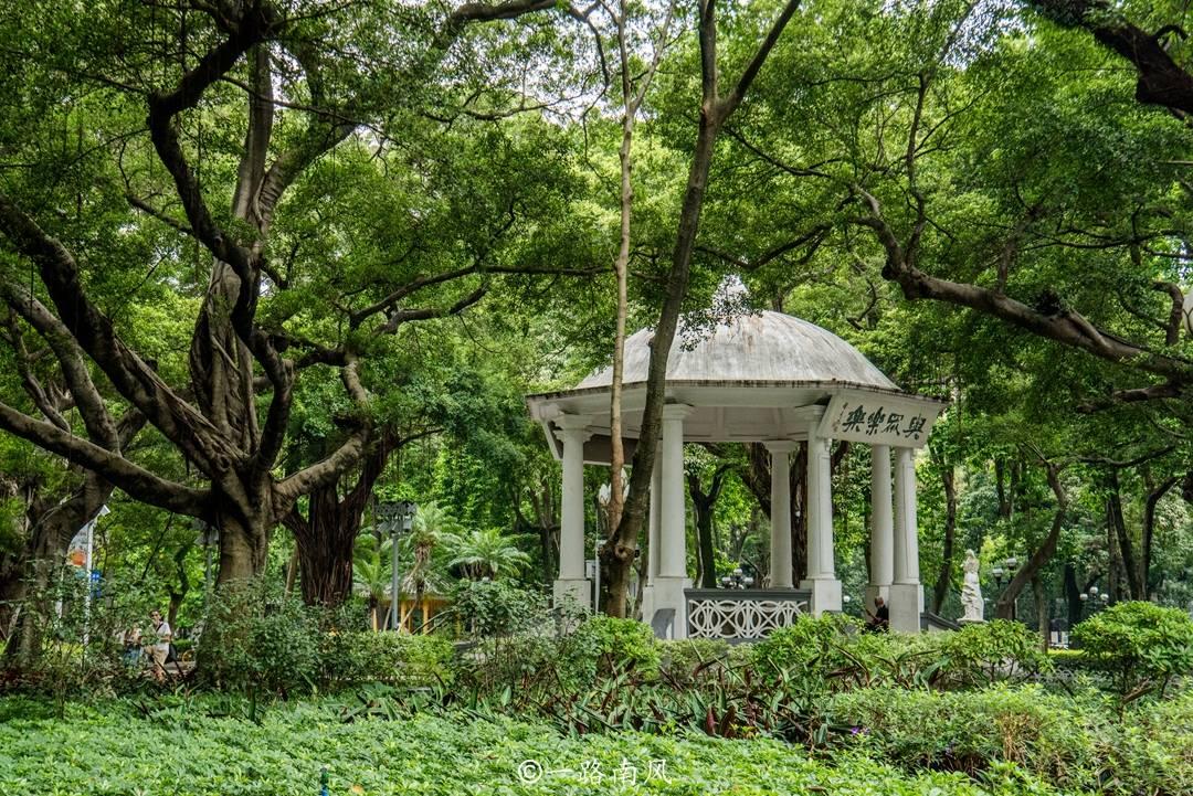 原创             广州原点,原来不在天河,而在广州最早的公园