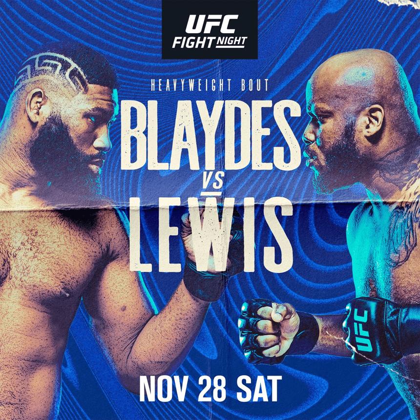 UFC格斗之夜184前瞻:布来兹迎战黑色野兽