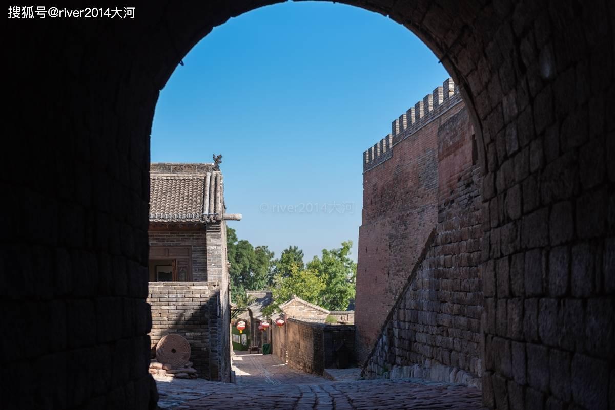原创             山西这个村子就是一座微型城堡,保留着完好的千年古地道