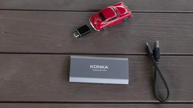 创意让手机摄影师爱不释手!康佳PS300移动固态硬盘体验