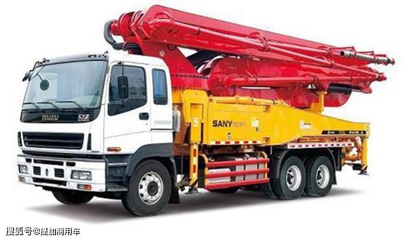 刘国最好的泵车,520马力性能可靠,庆铃五十铃巨型咖啡泵车真的很棒