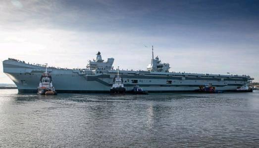 英国想重现全球海军的辉煌,但不幸遭遇严重挫折