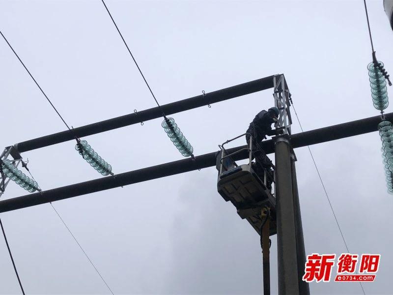 国网衡阳供电公司多措并举保供电 为市民冬季用电保驾护航