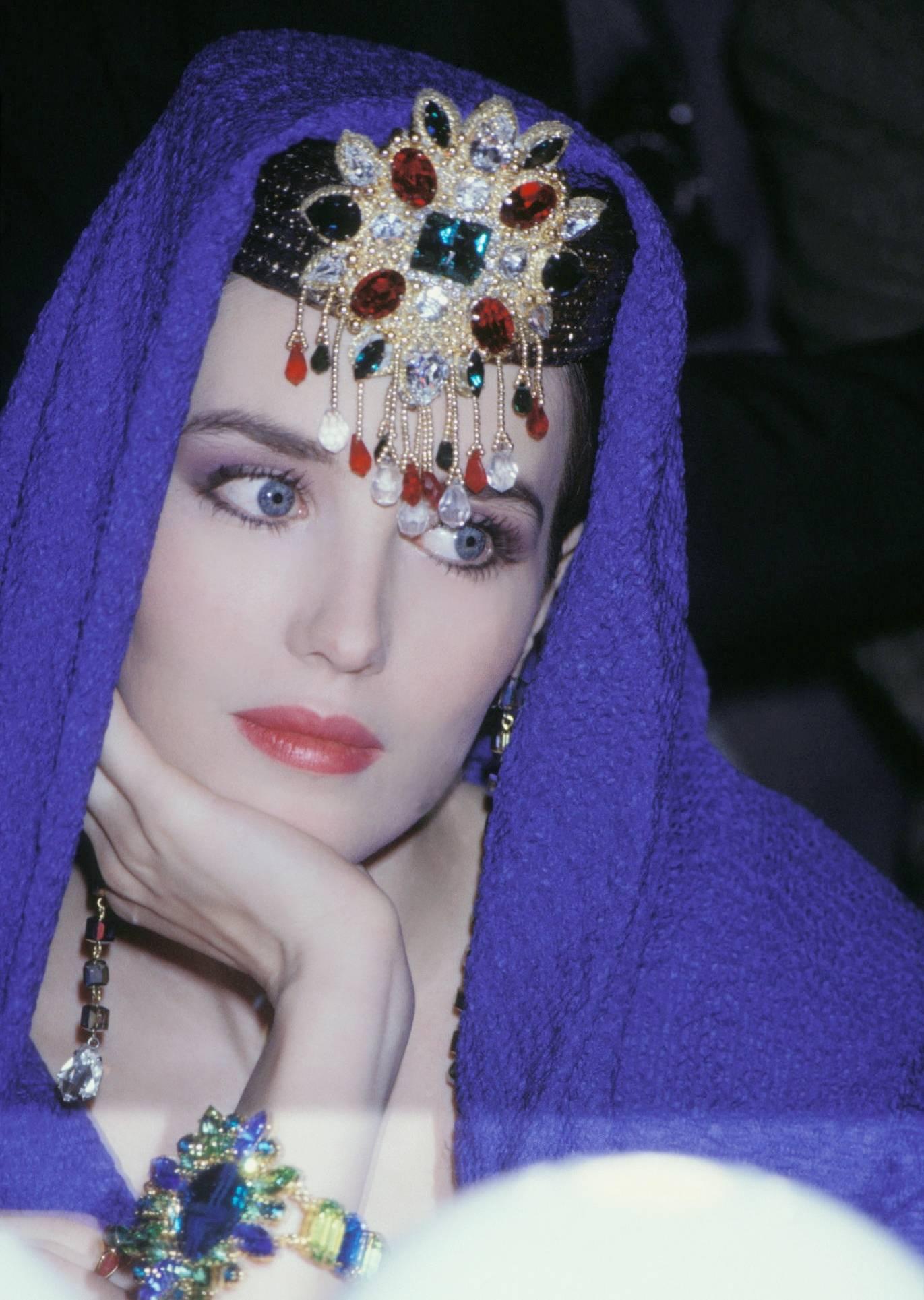 """""""法国第一美女""""65岁了,她的一双蓝眼睛,仍美得令人惊叹!"""