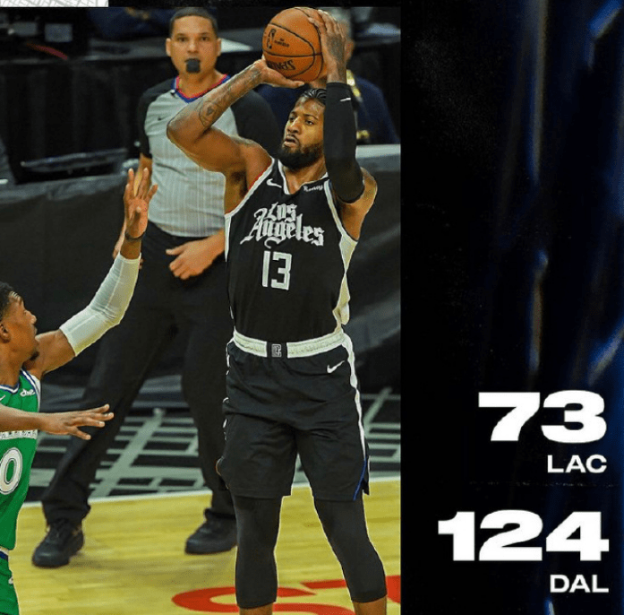 NBA局势有点冷,东部两队3连胜,雄鹿快船惨败,篮网输球