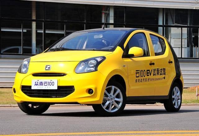 原厂Zotye的纯电动车经常在路上看到,内饰豪华,售价只有5万