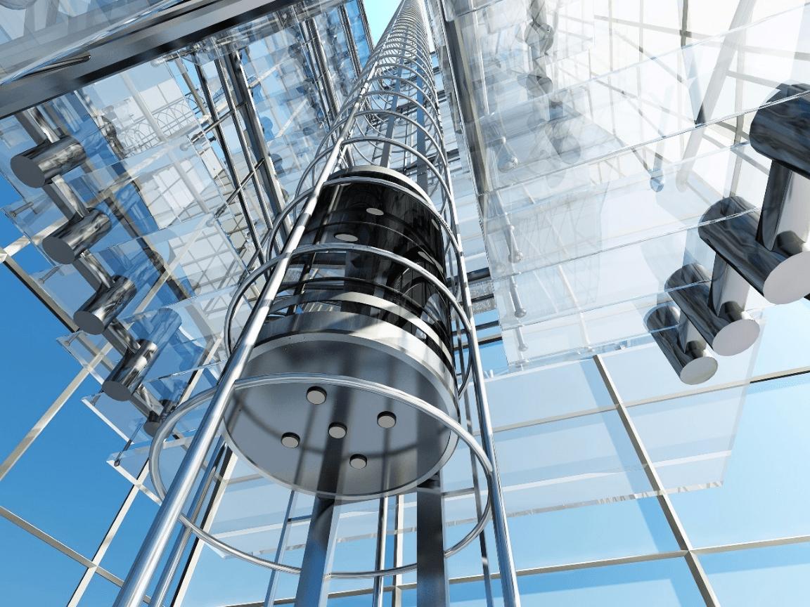 日立观光电梯图片