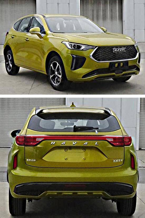 原创新哈弗F5间谍照片曝光,新车更换车型将命名为嘉年华