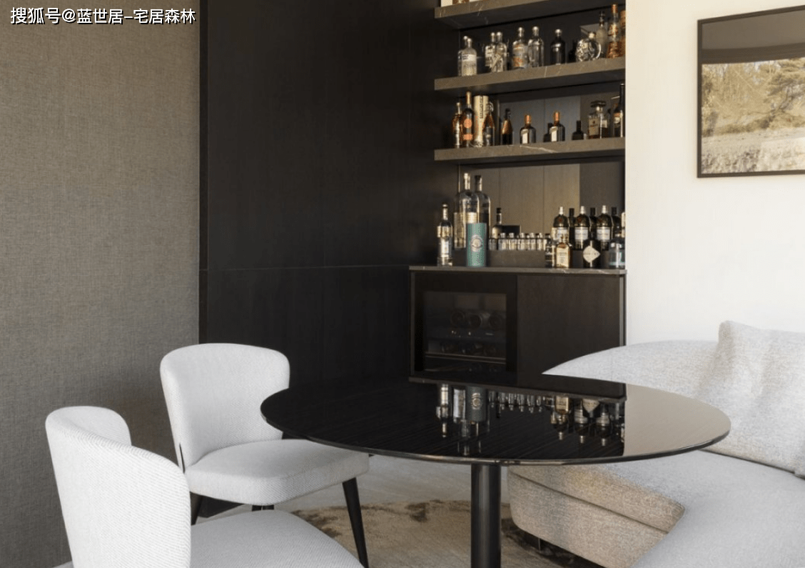 「蓝世居」极简公寓模板,简约不简单(图3)