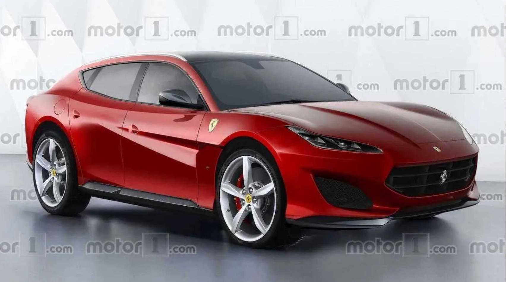 法拉利纯电动超级跑车计划展示4台450千瓦的发动机,并将于2024年上市