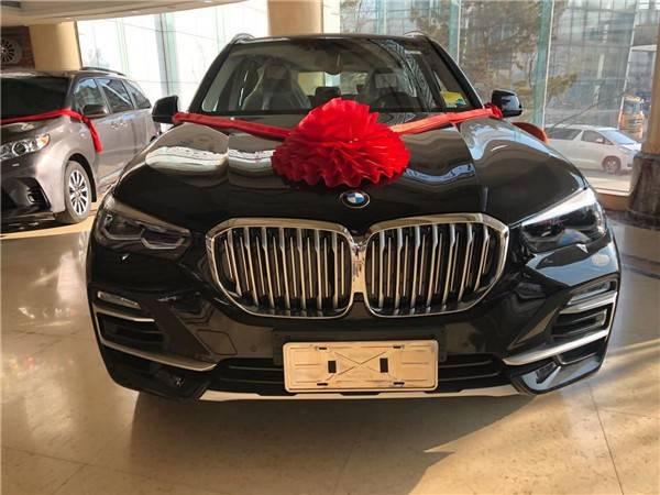 新宝马X5 Plus城市SUV自由贸易区现在是汽车奖励