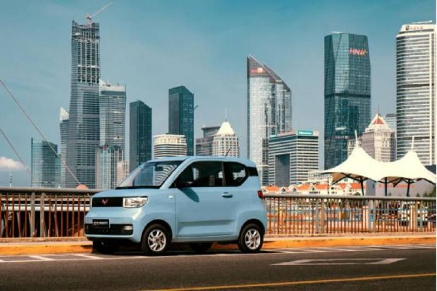 原装五菱洪光Mini EV确实是大众化的炸鸡!但是这辆车也许能与之竞争