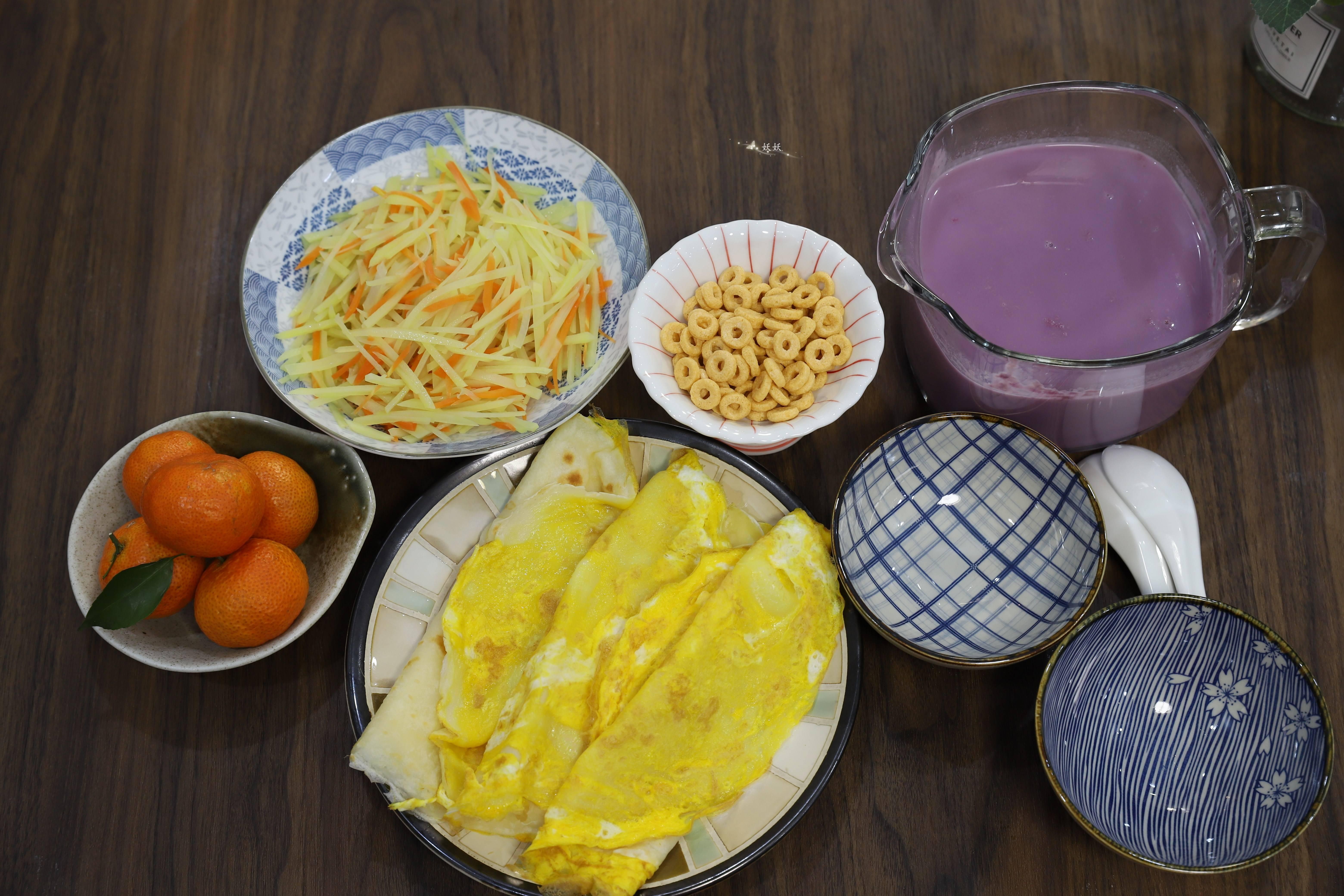 我家孩子的早餐原汁原味,颜色丰富,味道鲜美,比路边摊好吃
