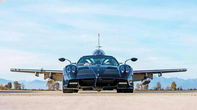 帕加尼为空军打造的原厂限量跑车,全球只有三辆,售价4400万元